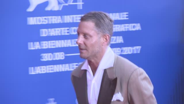 lapo elkann at franca sozzani award - 74th venice international film festival on september 01, 2017 in venice, italy. - 第74回ベネチア国際映画祭点の映像素材/bロール