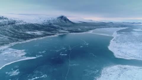 stockvideo's en b-roll-footage met laponia in winter / lappland, sweden - unesco world heritage site