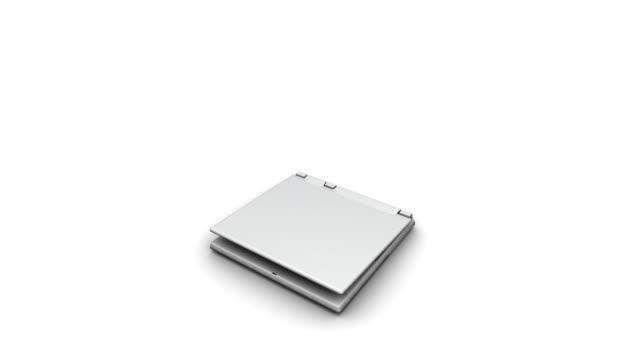Laptop computer opening HD