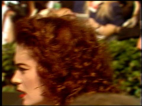 lara flynn boyle at the 1991 emmy awards arrivals at the pasadena civic auditorium in pasadena, california on august 25, 1991. - lara flynn boyle stock videos & royalty-free footage