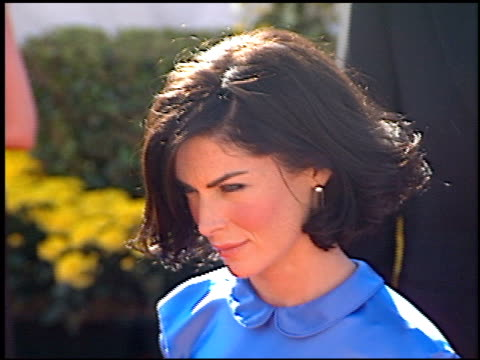 lara flynn boyle at the 2000 emmy awards at the shrine auditorium in los angeles, california on september 10, 2000. - shrine auditorium video stock e b–roll