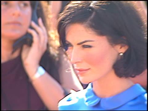 lara flynn boyle at the 2000 emmy awards at the shrine auditorium in los angeles, california on september 10, 2000. - lara flynn boyle stock videos & royalty-free footage