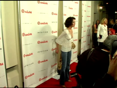 lara flynn boyle at the launch the target couture collection by intuition founder jaye hersh at social hollywood in hollywood california on may 11... - jaye hersh stock videos and b-roll footage