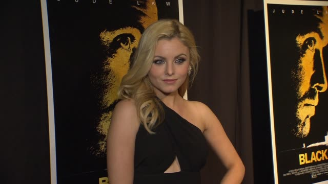 Lara Jade at Black Sea New York Premiere Presented By Focus Features at Landmark Sunshine Theater on January 21 2015 in New York City