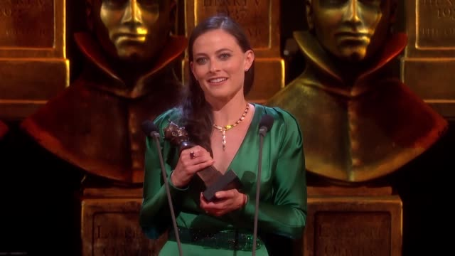 Lara Pulver Gypsy Best Actress in a Supporting Role for a Musica at The Olivier Awards with MasterCard at The Royal Opera House on April 04 2016 in...