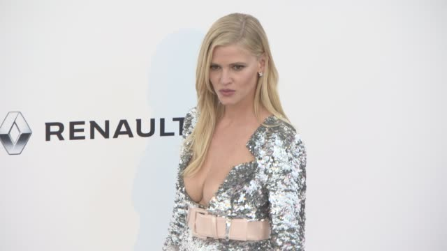 Lara Stone at amfAR Gala Cannes 2017 at Hotel du CapEdenRoc on May 25 2017 in Cap d'Antibes France