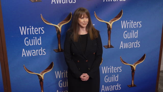 laraine newman at the 2020 writers guild awards at the beverly hilton hotel on february 01, 2020 in beverly hills, california. - the beverly hilton hotel stock videos & royalty-free footage
