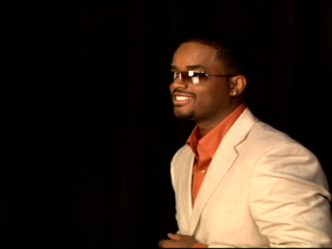 larenz tate at the 2006 bet awards portrait studio at the shrine auditorium in los angeles, california on june 27, 2006. - shrine auditorium stock videos & royalty-free footage