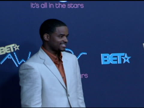 larenz tate at the 2006 bet awards press room at the shrine auditorium in los angeles california on june 27 2006 - larenz tate stock videos and b-roll footage