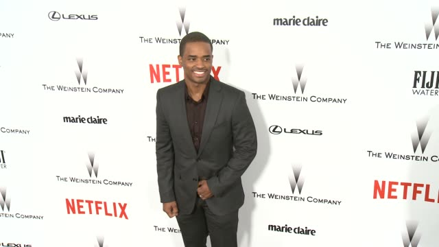 larenz tate at the 2015 weinstein company and netflix golden globe after party at robinsons may lot on january 11 2015 in beverly hills california - larenz tate stock videos and b-roll footage