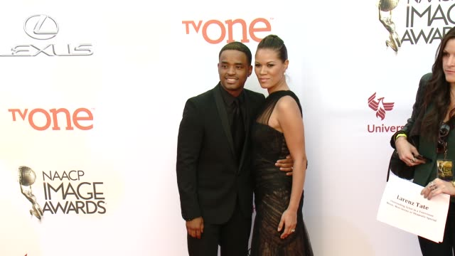 stockvideo's en b-roll-footage met larenz tate at the 46th annual naacp image awards arrivals at pasadena civic auditorium on february 06 2015 in pasadena california - pasadena civic auditorium