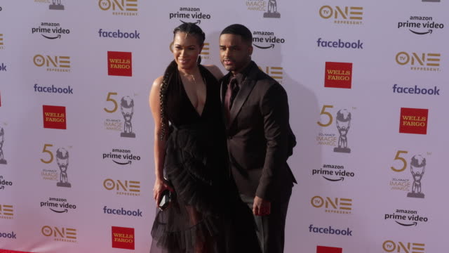 larenz tate at the 50th naacp image awards at dolby theatre on march 30 2019 in hollywood california - larenz tate stock videos and b-roll footage