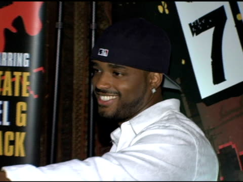 larenz tate at the official launch party for '187 ride or die' at house of blues foundation room in west hollywood california on august 30 2005 - larenz tate stock videos and b-roll footage