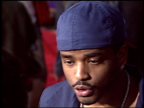 larenz tate at the the chronicles of riddick at universal amphitheatre in universal city california on june 3 2004 - larenz tate stock videos and b-roll footage