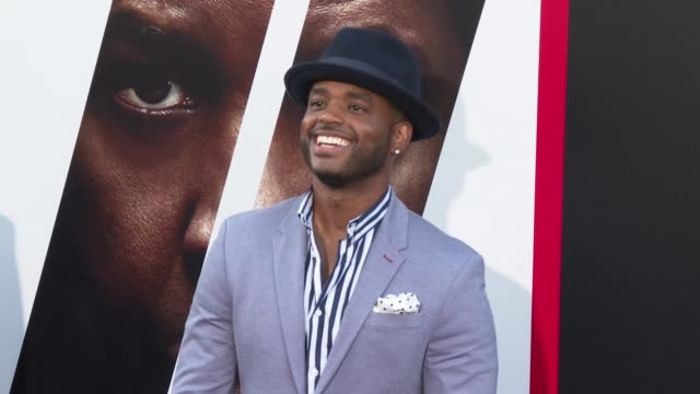 larenz tate at the the equalizer 2 premiere at tcl chinese theatre on july 17 2018 in hollywood california - larenz tate stock videos and b-roll footage