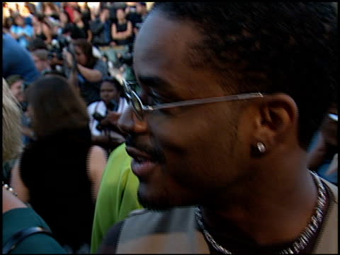 larenz tate at the 'wild wild west' premiere at the mann village theatre in westwood california on june 28 1999 - larenz tate stock videos and b-roll footage