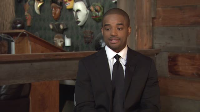 larenz tate on his career and staying relevant in hollywood at the behind the scenes larenz tate at los angeles ca - larenz tate stock videos and b-roll footage