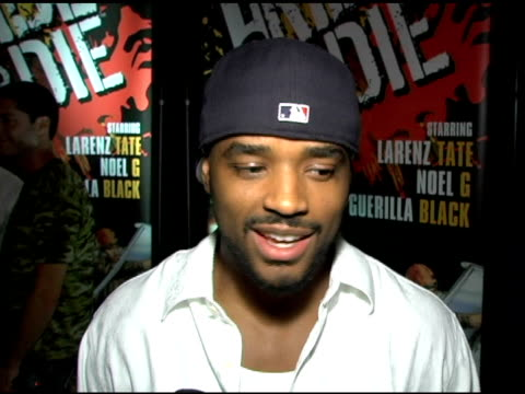 larenz tate on how accurate his video character is to his likeness preparing for the part what it is like to play a video game that you also star in... - larenz tate stock videos and b-roll footage