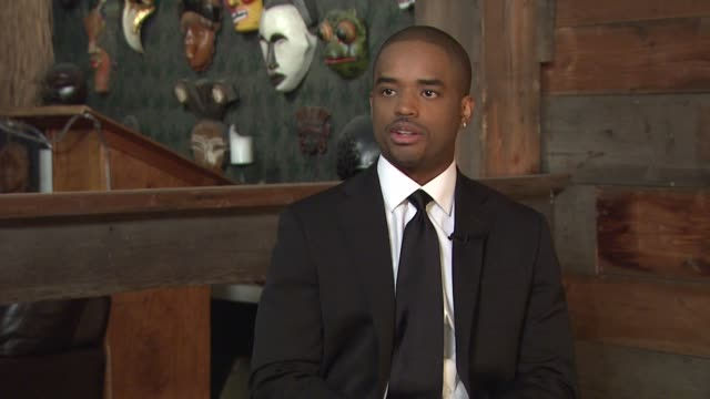 larenz tate on the tate brothers foundation and what he hopes it can accomplish at the behind the scenes larenz tate at los angeles ca - larenz tate stock videos and b-roll footage