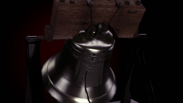 Large Bell of Liberty Ringing