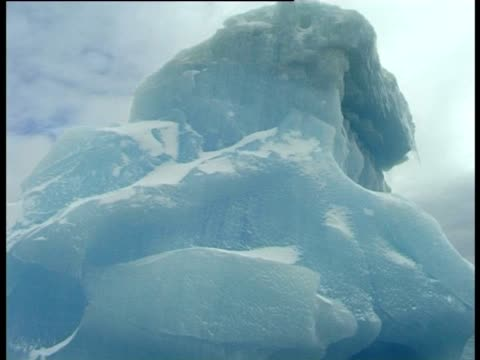 large blocky iceberg, paulet island, antarctic peninsula, antarctica - antarctic peninsula stock videos & royalty-free footage