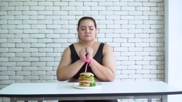 large build asian woman diet concept - mass unit of measurement stock videos and b-roll footage