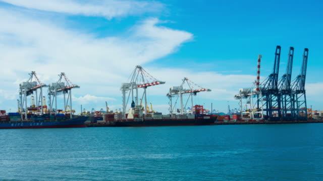 vídeos y material grabado en eventos de stock de gran envase en puerto de tailandia - signo de puntuación
