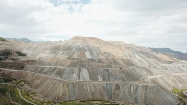 large copper mine - mining stock videos & royalty-free footage