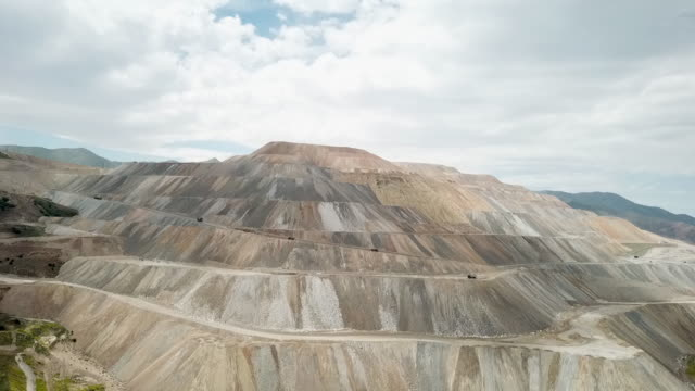 large copper mine - metal ore stock videos & royalty-free footage