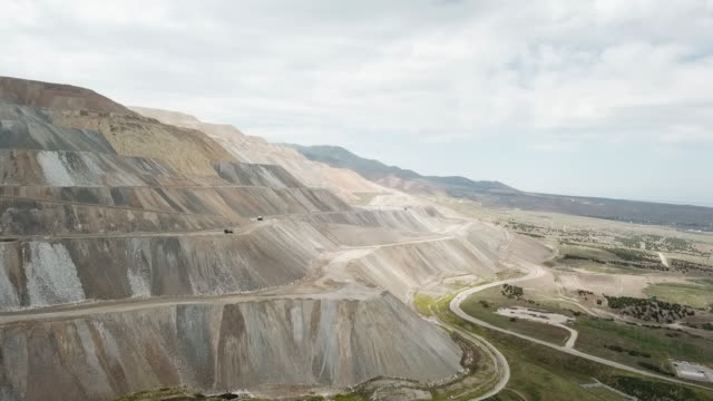 large copper mine - geology stock videos & royalty-free footage