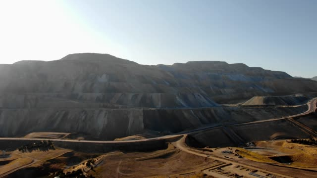 large copper mine - mining natural resources stock videos & royalty-free footage