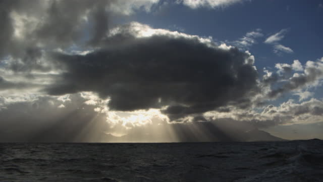 Large Dark Cloud Hides the Sun