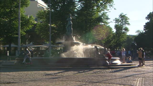 Large Fountain, Helsinki, Finland