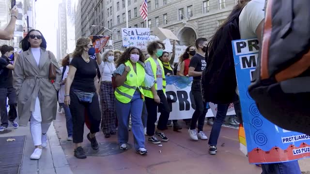 NY: Youth Climate Strike In New York City