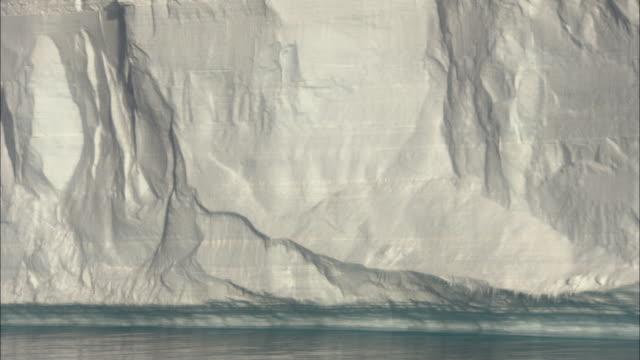 MS, PAN, Large ice shelf, Antarctica