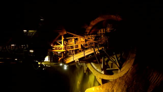Große Bergbau-Maschine