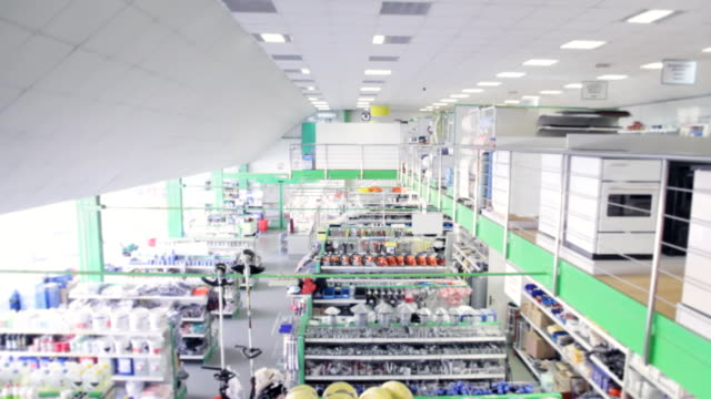 Large modern technical store