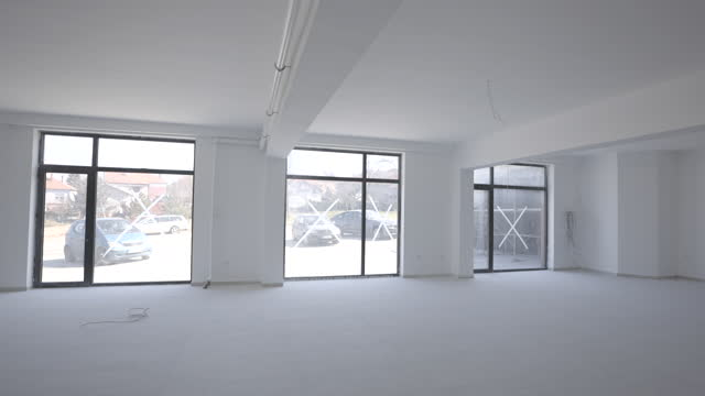 large office area in construction - new stock videos & royalty-free footage