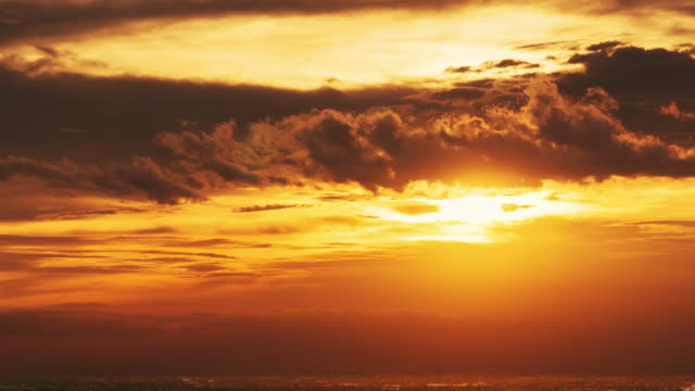 large sunset in bangkok,time-lape zoom in. - june stock videos & royalty-free footage
