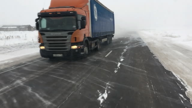 large trucks carry goods - thoroughfare stock videos & royalty-free footage