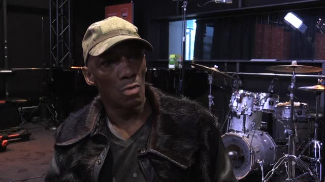 largely credited with being the godfather of trip hop british musician tricky speaks to afp about the release of his 13th album ununiform and the... - album release stock videos and b-roll footage