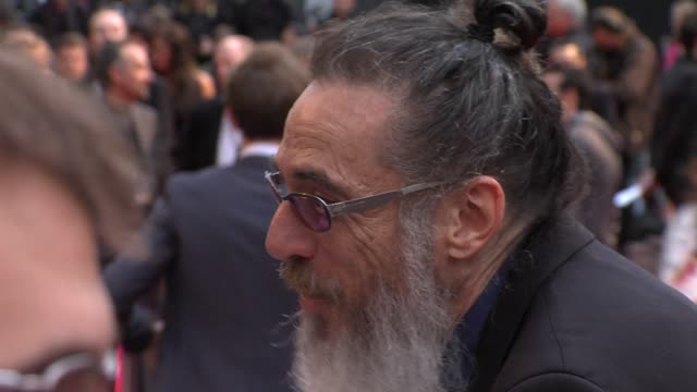 larry charles at the dictator: world premiere at the royal festival hall on may 10, 2012 in london, england - royal festival hall stock videos & royalty-free footage