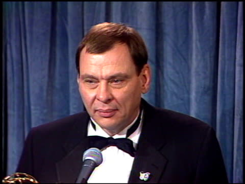 Larry Drake at the 1989 Emmy Awards Backstage at the Pasadena Civic Auditorium in Pasadena California on September 17 1989