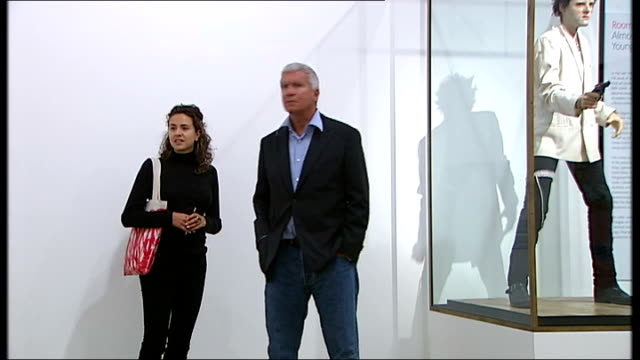 Larry Gagosian along at exhibition