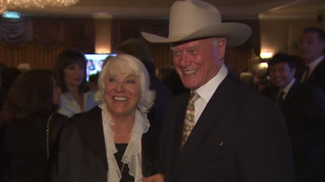 Larry Hagman at the Monte Carlo Television Festival Cocktail Party at Beverly Hills CA