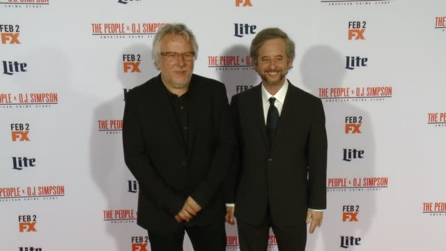 Larry Karaszewski and Scott Alexander at FX's The People v OJ Simpson American Crime Story Premiere at Westwood Village Theatre on January 27 2016 in...