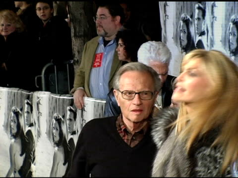 Larry King and Shawn King at the 'Walk The Line' New York Premiere at the Beacon Theater in New York New York on November 13 2005
