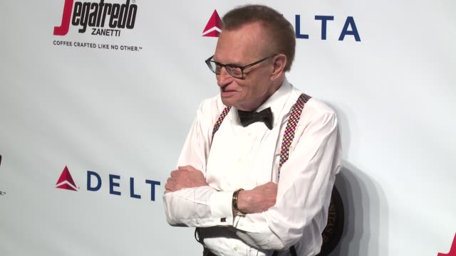 larry king at friars club honors martin scorsese with entertainment icon award at cipriani wall street on september 21 2016 in new york city - cipriani wall street stock videos & royalty-free footage