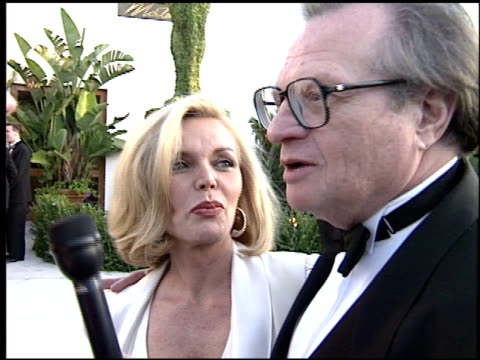Larry King at the 1995 Academy Awards Morton Party at Morton's in West Hollywood California on March 27 1995