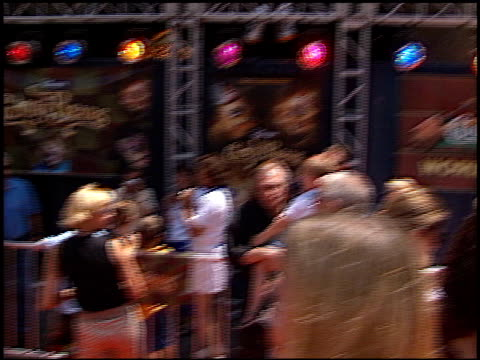 larry king at the premiere of 'the country bears' at the el capitan theatre in hollywood california on july 21 2002 - el capitan theatre stock videos & royalty-free footage